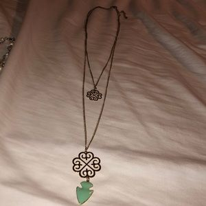 Two tiered necklace